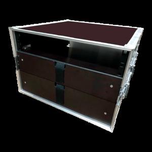 Кофр РЭК (Rack) 19'' с выдвижным ящиком под аксессуары